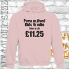 PERSONALISED PRINTED KIDS HOODIE - CUSTOM DESIGN - ADD TEXT - QUALITY AWDis HOOD