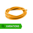 New Orange Silicone Vacuum Vac Hose Pipe Tube - 3mm 10mm Up to 30M Metres