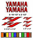 "YAMAHA R1  STICKERS  DECALS GRAPHICS MOTORCYCLE ""CHOOSE YOUR COLORS"""