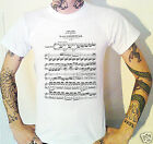 Ludwig Van Beethoven Sheet Music T-Shirt. Sonata Composer German Classical Music