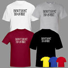 I'm not short, I'm a Hobbit inspired T shirt tee top Lord Rings funny mens boys