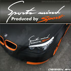Sports mind produced by Sport  Decals Stickers Graphics Auto Car Vinyl Racing I