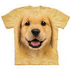 Golden Retriever Puppy  Child Animals Unisex T Shirt Mountain