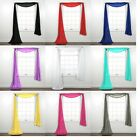 Kyпить New Sheer Window Scarf Valance Topper Curtain Drapes in Many Colors, 216