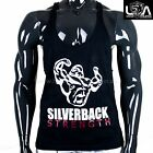 SILVERBACK STRENGTH MENS GYM SINGLET Racer Stringer Tank strength muscle