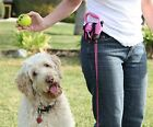 New flexi stretchy leash holder PET DOG RETRACTABLE L clip it on Cool!! RLH GR