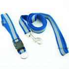 Polyester Reflective Night Safety Walking Dog Pet Collars & Leash Lead Set