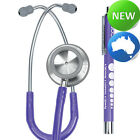 elitecare® - Clinical Dual Head Stethoscope & Penlight Combo