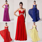 2014 Party Formal Bridesmaid Wedding Dress Long Cocktail Prom Ball Evening Dress