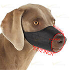 Adjustable Nylon Dog Grooming No Bark Bite Muzzle Mask XS S M L XL Any Size