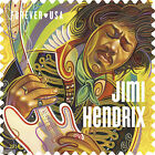 USPS New Jimi Hendrix Forever Stamp Sheet of 16 фото