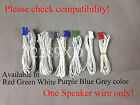 1 OEM Speaker Wire fr Panasonic DVD/Blu-ray Home theater (8.2mm pin-pitch;Read)