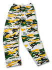 Zubaz Pants: Green/Gold Camo Zubaz Pants- New