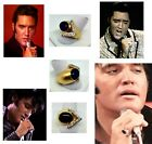 ELVIS 1968 COME BACK SPECIAL LEATHER SUIT RING CUSTOM MADE BY ARTIE