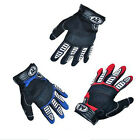 Cycling Bike Bicycle Men FULL Finger GEL Sillcone Gloves Size M - XL