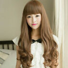 New Fashion Sexy Womens Girls Cosplay Party Long Hair Wig Wavy Curly Full Wigs