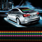 Car Sticker Colorful Flash Music Rhythm Lamp LED Light Sound Activated Equalizer