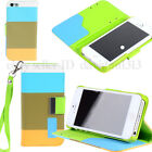 new Hybrid Leather credit card Wallet Flip Case Cover Stand Mobile phone case