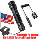 UltraFire 501B Flashlight 5-Mode Cree XM-L2 LED Flashlight Tactical light torch