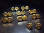 Wedding day Favours Shotgun Shell Cartridge Cap Cufflinks Clay Pigeon Themed