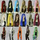 28/40/51 in. Long Straight Hair 70/100/130cm Cosplay Wigs Synthetic L/LL/L3
