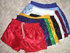 New Nylon Checkerboard Soccer Short Long Leg  8 Colours Mens Sizes 16 up to 26