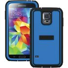 For Samsung Galaxy S5 Trident Cyclops Full Body 360 Built-in Screen Case Cover