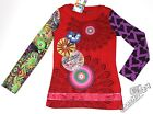 Desigual Girls Top Tunic Size 4 5/6 7/8 9/10 11/12 13/14 Camerasn New