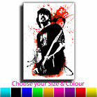 Dave Grohl Foo Fighters Canvas Abstract Iconic Art Print box framed Picture