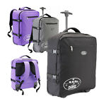Lightweight Hand Luggage Wheeled Suitcase Flight Trolley Cabin Bag 50x40x20cm