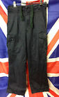 Genuine Royal Navy Heavy Duty Fire Retardant Cotton Combat Trousers - Work Wear
