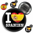 großer Button SPANIEN Anstecker Badge Espana Spain Pin 38 mm