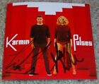 KARMIN SIGNED PULSES CD BOOKLET AMY HEIDEMANN & NICK NOONAN AUTOGRAPH w/PROOF