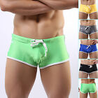 Swimming Shorts Men Boy Swimwear Swim Bathing Boxer Briefs Beach Boxers Trunks