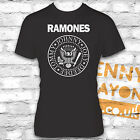 RAMONES T-SHIRT - MUSIC FAN, BAND T-SHIRT - JOE RAMONE - BLACK GILDAN SOFTSTYLE