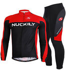 2014 Long Sleeve Cycling outdoor sports Jersey and Pant Wear Clothing size M-XXL