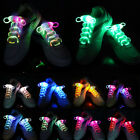 Multi-Color LED Flash Light Up Glow Shoelaces Shoe Laces DISCO Bar Party Skating
