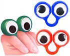 Googley Eye Rings - Funky Boys/Girls Party Bag Fillers - Turn Fingers Into Face