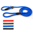 Cheap Nylon Rope P Chock Obedience Leash Dog Training Slip Leads 3 Color 3 Sizes
