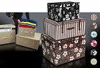 Chest trunk storage box   size XL many designs ENG
