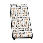 Cover for iPhone 4/5 Case #259 Yoga Cats Funny Animal Lover Mum Gift Idea cute