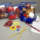 Children's Knitting, Crochet and French Dolly Knit Kits with Pom Pom and Needles