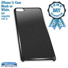 Cover for iPhone 5c Case #246 Carbon Fiber Style Stripey Lines Great Gift Idea