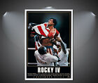 Rocky IV Vintage Movie Poster - A1, A2, A3, A4 Sizes Available