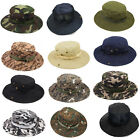 Fishing Hunting Army Tactical Bucket Jungle Military Boonie Hat Sun Cap Outdoor