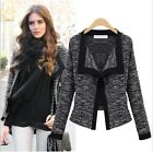 NEW Women Lady Short Slim Overcoat Jacket good Suit Jacket