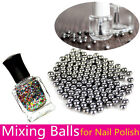 5mm Nail Art Stainless Steel Nail Polish Mixing Agitator Ball 20/100pcs