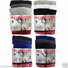 12 PAIR MENS GENTS BILLY BOXER SHORTS SOFT RIBBED COTTON BUTTON FLY UNDERWEAR