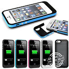 EXTERNAL POWER 2500MAH PORTABLE CHARGER BACKUP BATTERY CASE FOR IPHONE 5 5G 5S