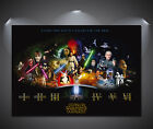 Star Wars Cast Vintage Movie Poster - A0, A1, A2, A3, A4 Sizes $3.21 CAD on eBay